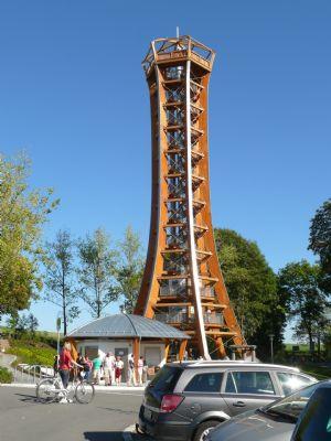 Aussichtsturm bei Schloß Burgk
