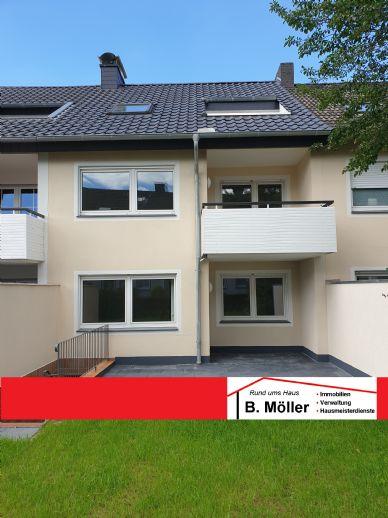 Kernsanierte helle 2 ZKB-Terrassenwohnung im Reihenmittelhaus in Bielefeld-Stieghorst zu vermieten!