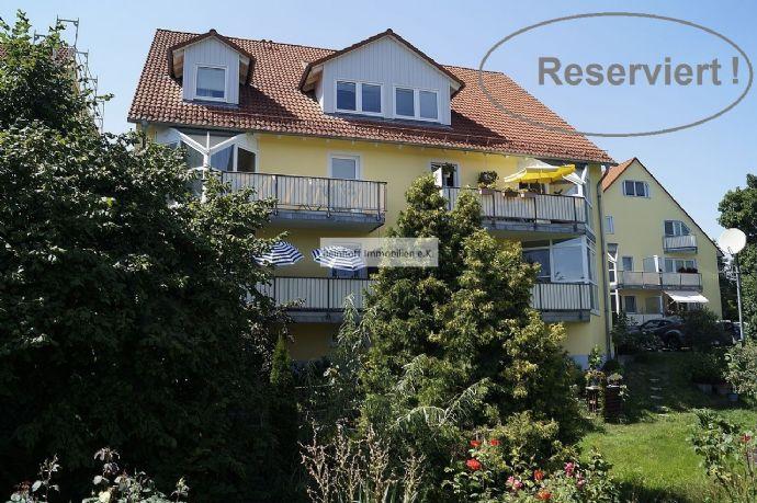 *Reserviert!* - Malerischer Blick auf die Weinberghänge von Radebeul! Eigentumswohnung mit 2 Balkonen!