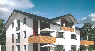 neubau dachgeschosswohnung in oberg nzburg in ruhiger. Black Bedroom Furniture Sets. Home Design Ideas