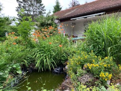 Aubing/Lochhausen, ruhig u. sonniges Baugrundstück mit Südwestausrichtung für ein großes freistehendes Einfamilienhaus und Garage.