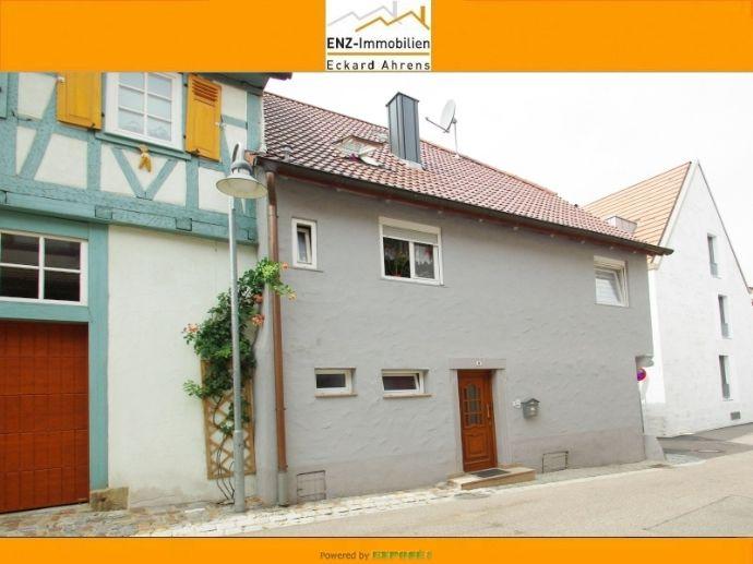 Doppelhaushälfte in Vaihingen-Enz , Stadtmitte