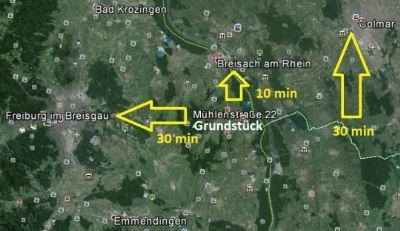 Entfernungen  Burkheim