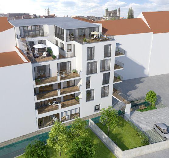 moderne neusanierte Wohnung in einer zentralen Lage
