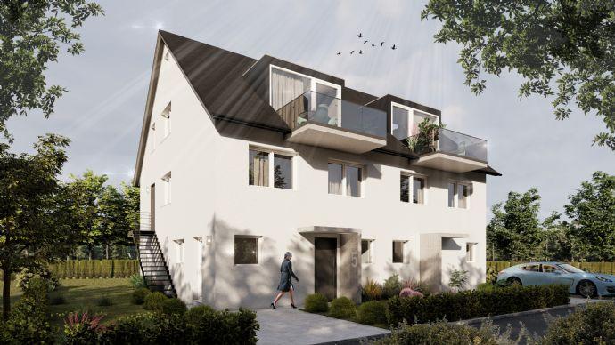 Schwäbisch Hall - Doppelhaushälfte mit Garten