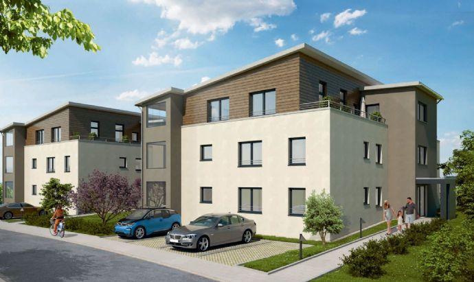 Erstbezug - Helle 3,5 Zimmer EG-Wohnung mit Loggia und Gartenanteil