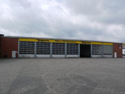 Halle 2 (Werkstatt) Nordansicht