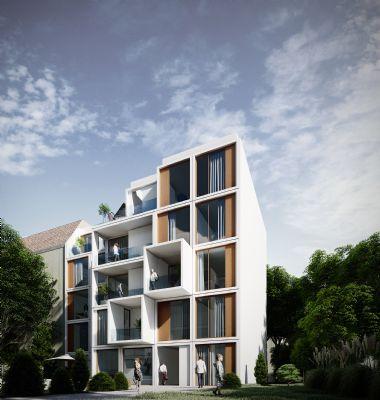 Neue Florahöfe: Wunderschöne 4-Zimmer-Wohnung im 1. OG mit Loggia und Blick auf 2 begrünte Innenhöfe