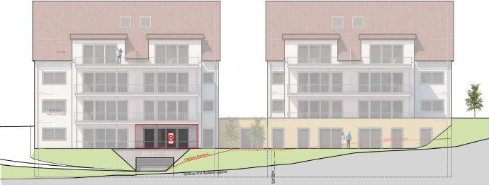 1 5 zimmer gartengeschoss whg ca 66 m mit terrasse und blick ins gr ne 8 17 etagenwohnung. Black Bedroom Furniture Sets. Home Design Ideas