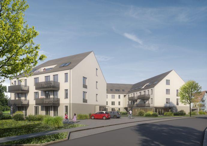 4-Zimmer-Familienwohnung mit Westbalkon im charmanten Neubau! Grünes Umfeld, ansprechende Ausstattung, gute Infrastruktur, Top-Preis!