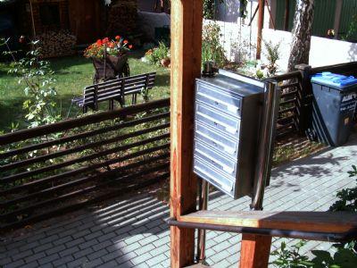 Hauseingang Briefkastenanlage