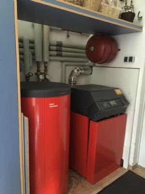 Heizung mit Warmwasserbereitung