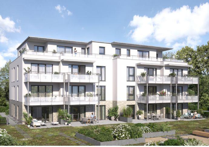 Erdgeschosswohnung mit Terrasse am Hallohpark - Bezugsfertige Ausstattung inkl.