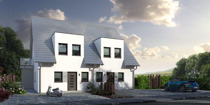 Neubau von Doppelhaushälften in Langenzenn-OT - Grundstück und Energiesparhaus zum Toppreis!