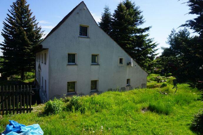 Einfamilienhaus oder Baugrundstück in Olbersdorf
