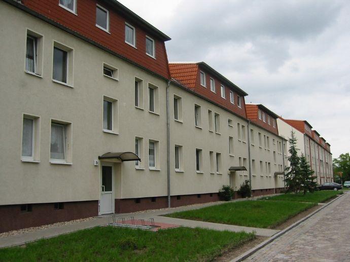 Ländlich gelegene 3-Zimmer-Wohnung am Ortsrand von Klieken