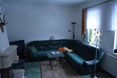 Wohnzimmer im OG mit Kamin