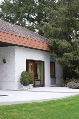 Anbau mit eigener Terrasse