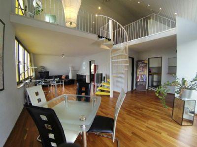 Blick, Ess-/Wohnzimmer, beide Ebenen