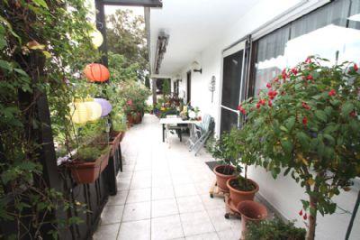 Terrasse im Erdgeschoß