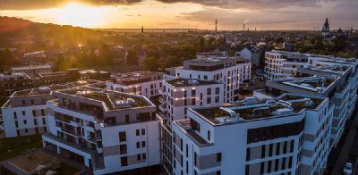 Neubauwohnung! Fußbodenheizung, Dachterasse und 2 Vollbäder