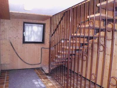 Treppenabgang in den Keller