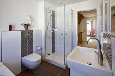 Badezimmer Musterhaus