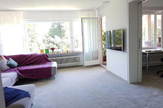 Exklusive, modernisierte 4,5-Zimmer-Wohnung mit Balkon und Einbauküche in Konstanz Petershausen