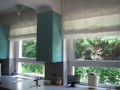 Ausblick in der Küche