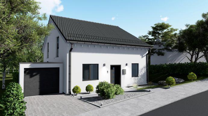 Moderner Neubau auf Südgrundstück mit Garage