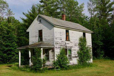 Einfamilienhaus mit Lärchenholzfassade und Wintergarten