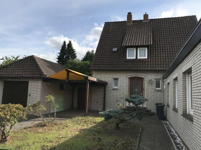 Vielseitigkeit - EFH mit Bürotrakt und Baugrundstück in Lübbecke
