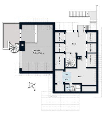 Grundriss, Dachgeschoss
