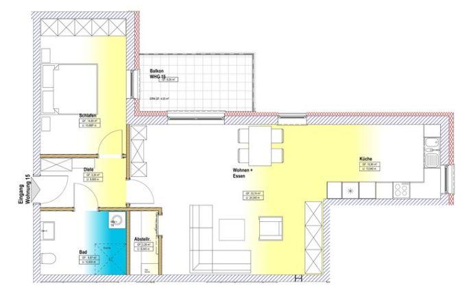 Wohnung zu kaufen in Zerf - A17474