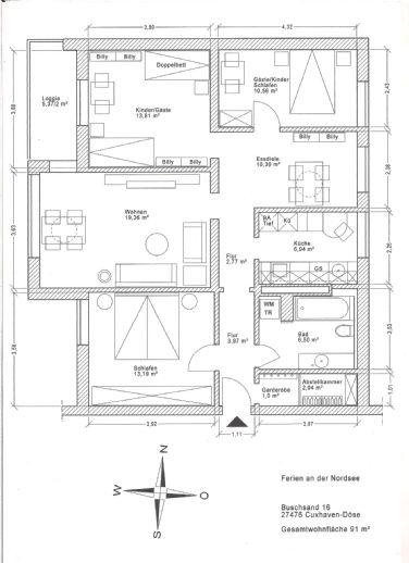 4 5-Zimmer-Domizil in Cuxhaven-Döse