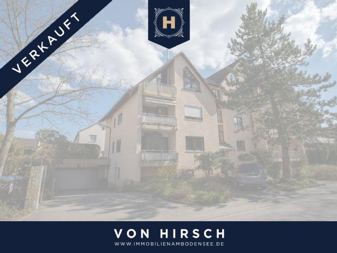 Schön 3 Zimmer Dachgeschosswohnung mit zwei Balkonen, TG Stellplatz und Einbauküche in Gottmadingen