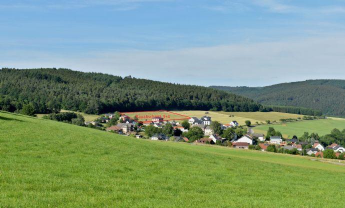 Baugrundstück im Neubaugebiet in Hentern mit herrlichem Weitblick