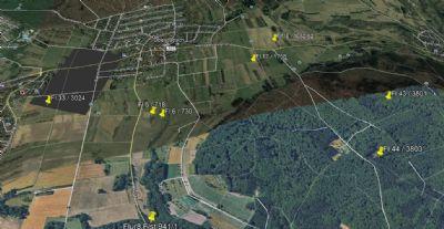 Provisionsfrei ! 8 Grünflächen & Wald 10.957 m² in Oberjosbach zum Paketpreis