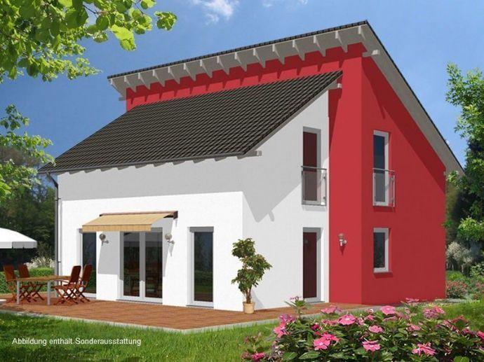 Ein auffälliges Design - Ihr neues Zuhause mit versetztem Pultdach