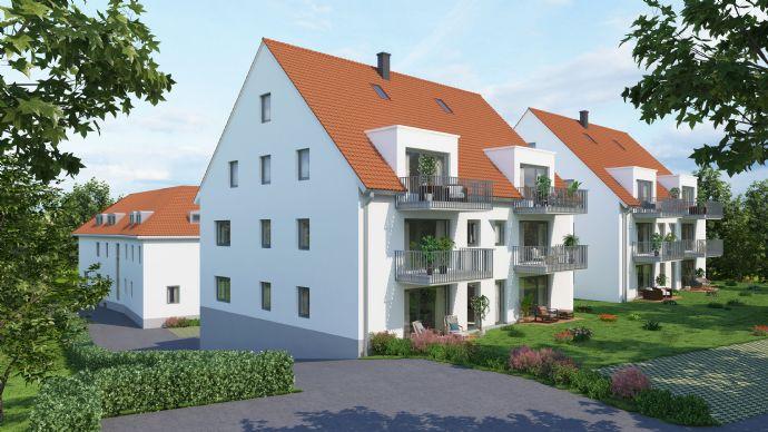 MAINHOF 14/16 ERLABRUNN- Dachgeschosswohnung mit Balkon - Whg. A5