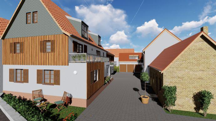 Provisionsfrei |Neubau EG-ETW mit Empore in Hofreite