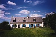 Bretagne Ferienhaus - wunderschönes typ. bretonisches Haus in Plovan