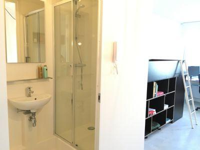 studentenbude spitzenangebot ab 360 22m2 mit eigener k che bad apartment aachen 2b5qb4f. Black Bedroom Furniture Sets. Home Design Ideas