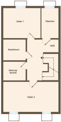 Kellergeschoss ausbaubar