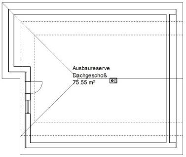 Grundriss Dachgeschoß