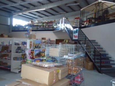 Ladenbereich inkl. 2 Ebene