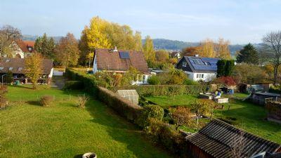 Garten, Blick vom Wohnzimmer DG
