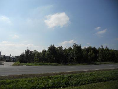 Blick aus das Grundstück