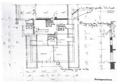 Grundriss Dachgeschoss teilausgebaut