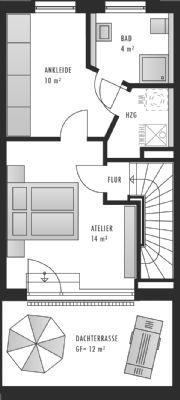 Dachgeschoss Alternative